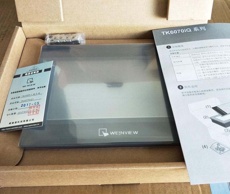 TK6070 Weinview weintek HMI 7 inch