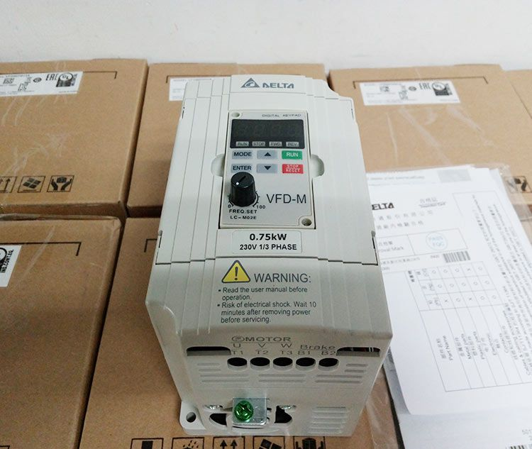 VFD007M21A Delta single phase 220v VFD-M series