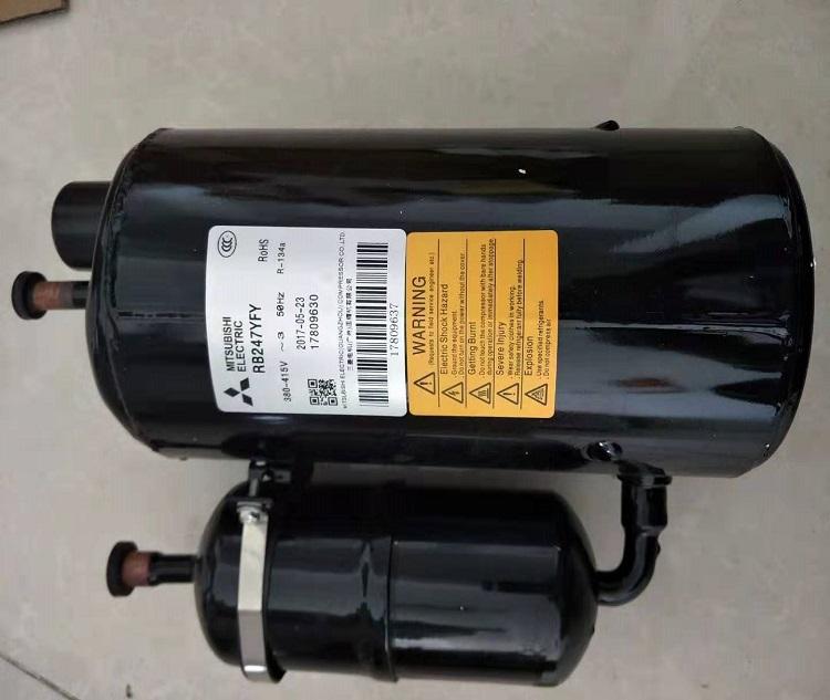 Mitsubishi hermetic compressor rb247yfy