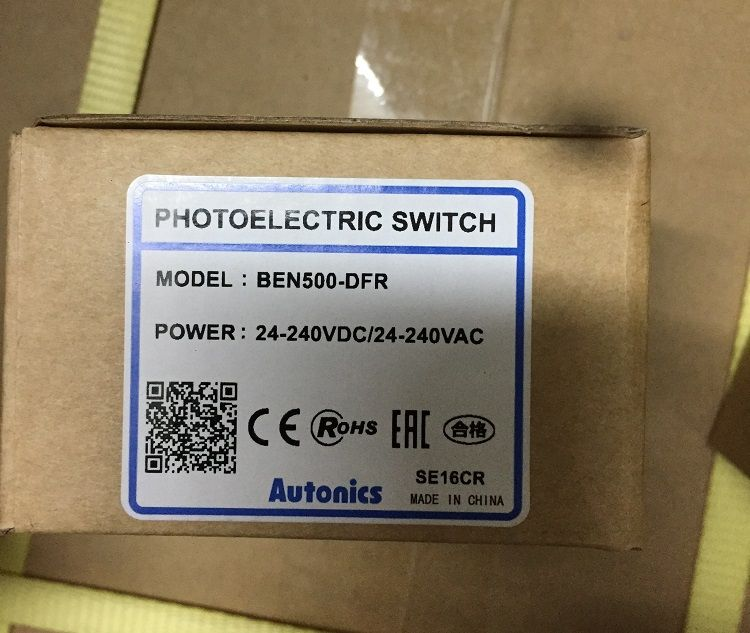 Original AUTONICS photoelectric switch BEN500-DFR