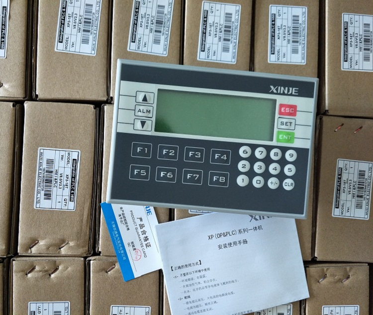 xp3-18t xp3-18rt xinje hmi plc intergrated