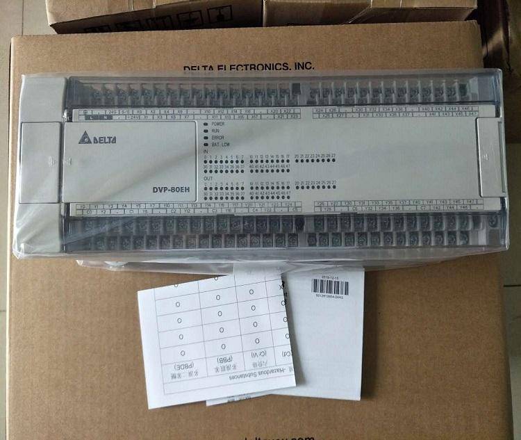 delta plc  DVP80EH00R3 40DI/40DO