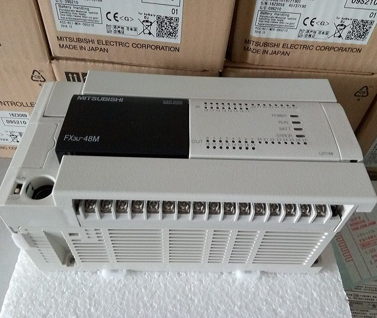 Mitsubishi plc FX3U-48MRES-A  128MRES 64MRES 32MRES 16MRES