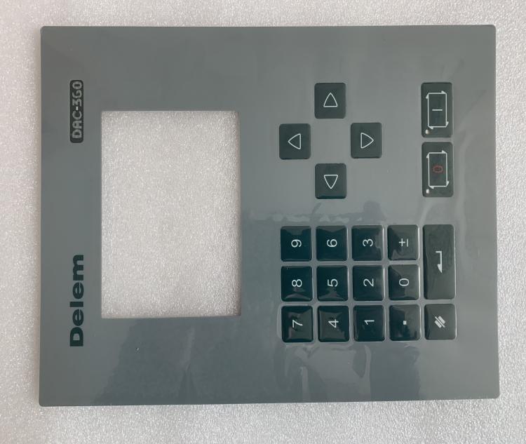 Delem DA-41 panel controller button